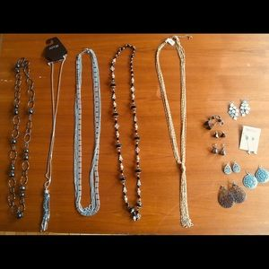 Jewelry - Assorted Necklaces & Earrings
